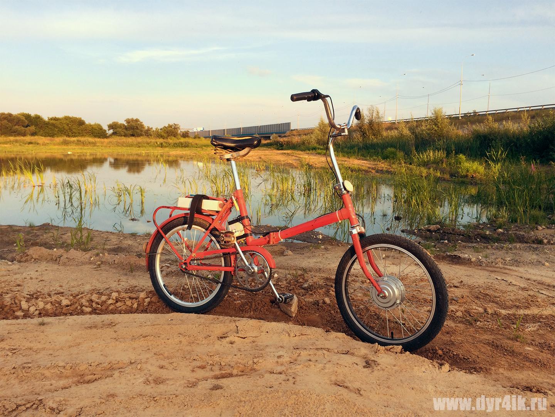 Велосипед КАМА пока не электро