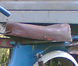 Восстановление сиденья мопеда