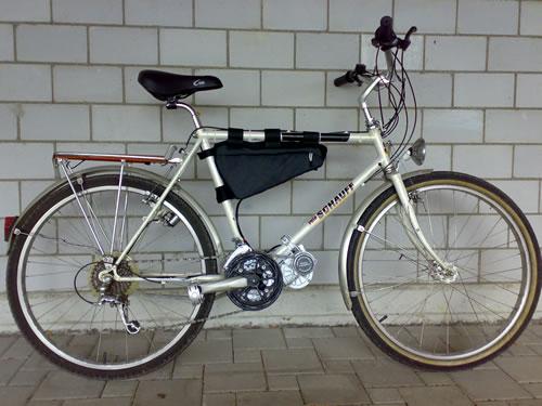 Велосипедный электродвигатель