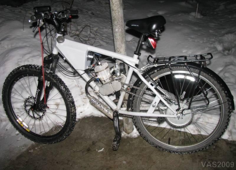 Вред от использование мототехники в зимнее время.