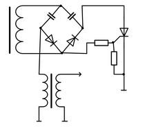 Простое электронное зажигание на Д с диодным мостом.
