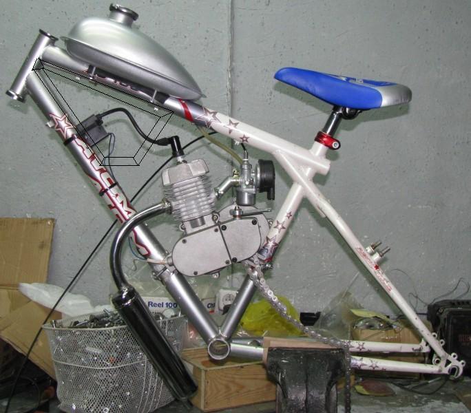 """Велосипед АТОМ 26"""" плюс КД (китайский дешник)"""