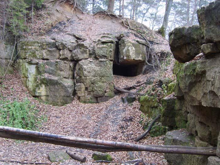 Среди скал