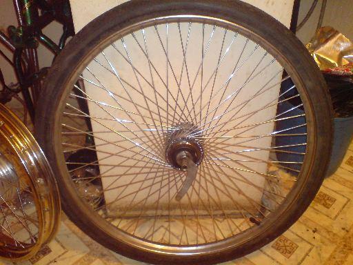Зачётная оспицовка колеса