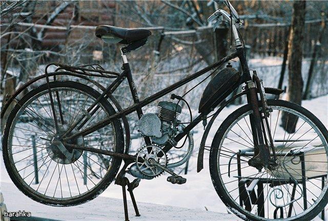 Мотовелосипед 16 -ВМ  (г.Пенза).