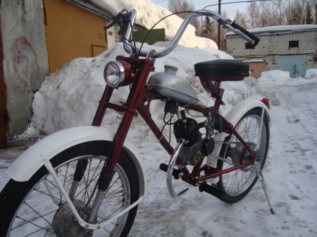 "Мопед для дачи-""Рига-13""+КД или как я коротал зиму"