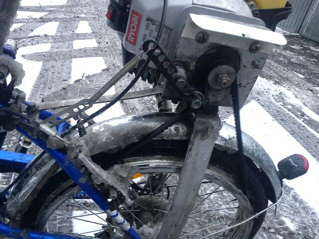Клиновой ремень по первому снегу!!!