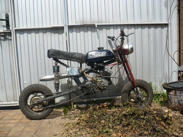 Стантрайд мотопед