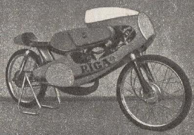 Гоночные мотоциклы сделанно в СССР и ЭССР.