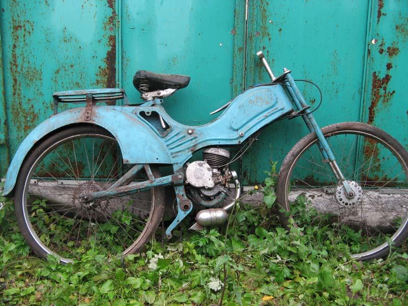 Реставрация мотовелосипеда МВ-042 Львовянка