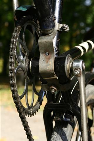 Велосипедный боковой прицеп-коляска