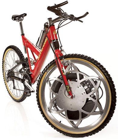 Бензомотор в колесе