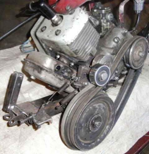 О триммерных моторах и ременных приводах