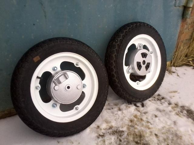 самый глупый вопрос  - порядок сборки колеса миника