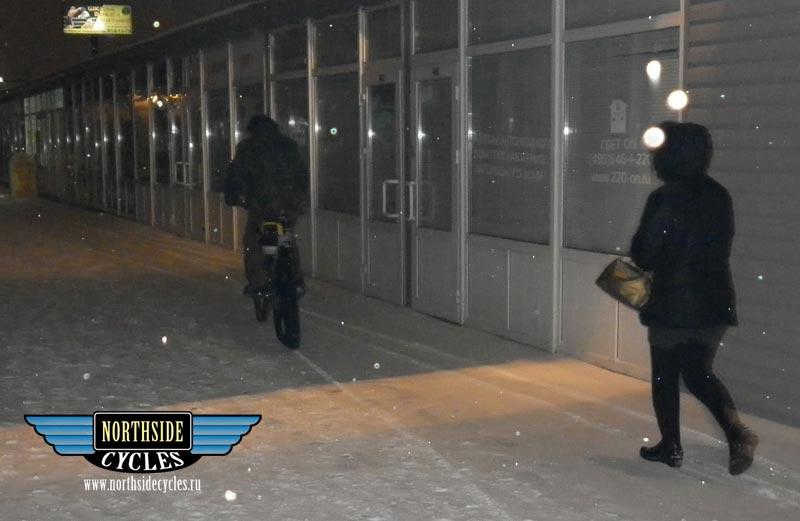Мотовелосипед-снегоход от NSC