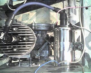 Трайк с двигателем Д8, теперь с китайским двигателем