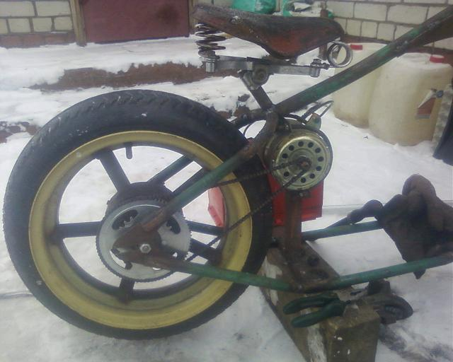 Постройка ЭЛЕКТРО чоппера