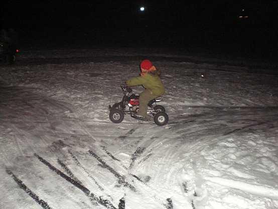 Трасса для миниквадроциклов