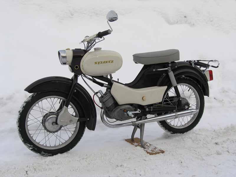 Simson Spatz 1964г.