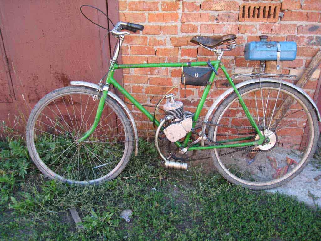 Украина велосипед и двигатель Д6