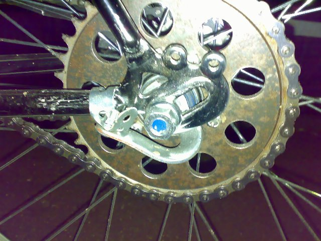 Проблема с велосипедным тормозом.