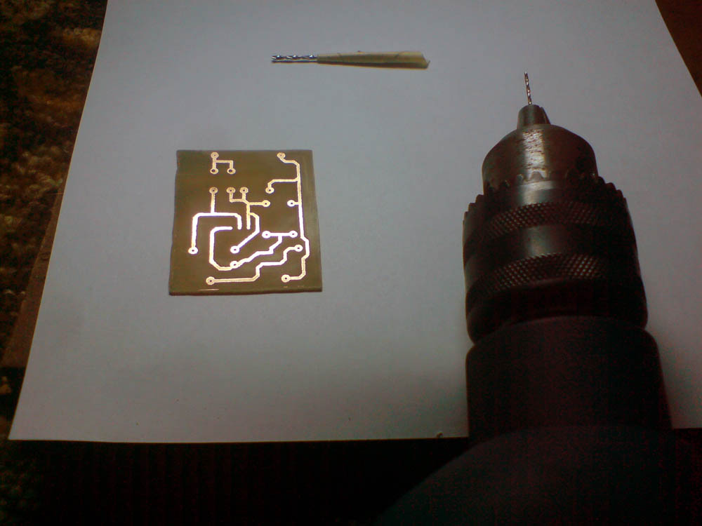 Схема СЛХ на печатной плате