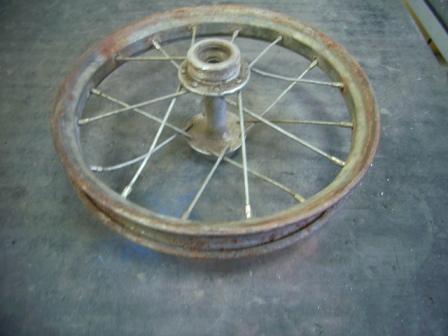 """Делаю колесо для микрочоппера """" Муха """""""