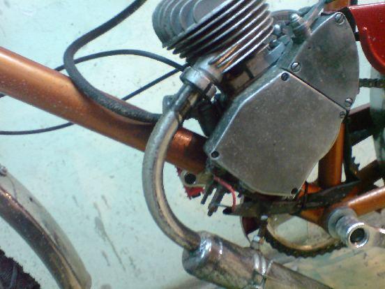 """Мотовелосипед """"Цитрус"""" Лаборатория на колёсах"""