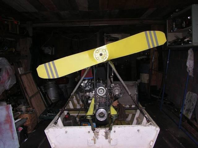 самодельные воздушные моторы на лодки