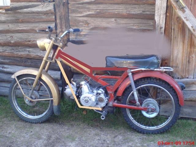 двигатель от скутера на мопед