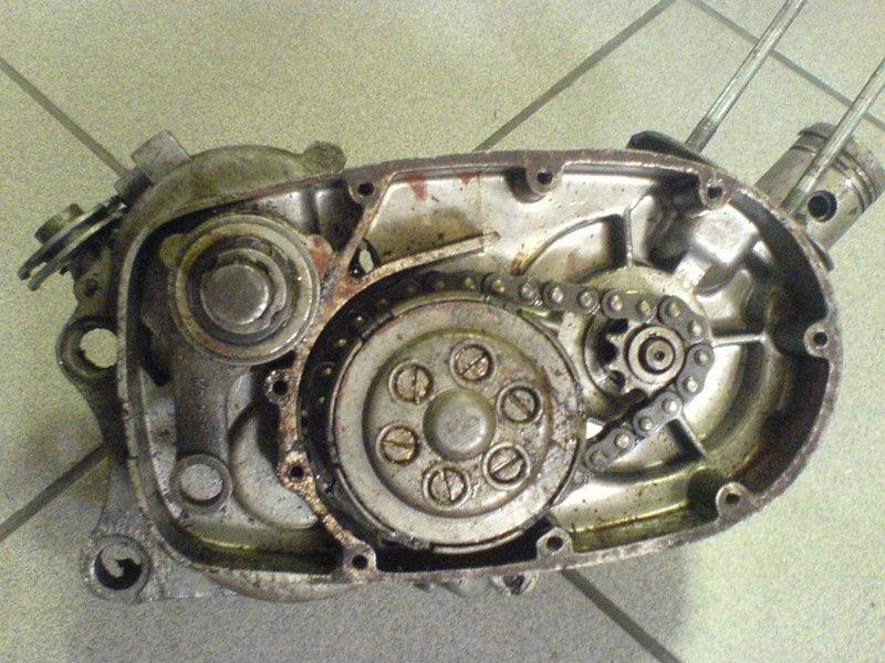 Двигатель от мопеда Берва