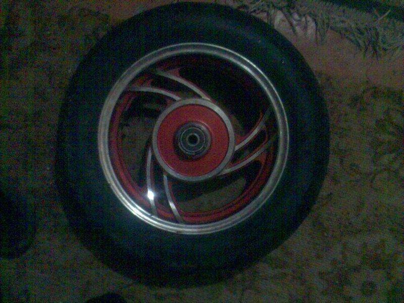 Литые колеса на мини ригу, стеллу.