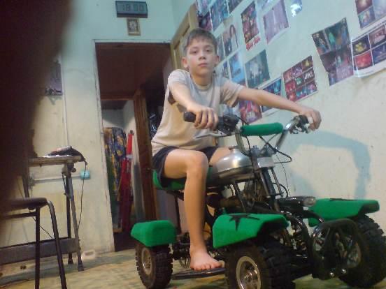 Детский мини квадроцикл.Часть вторая.